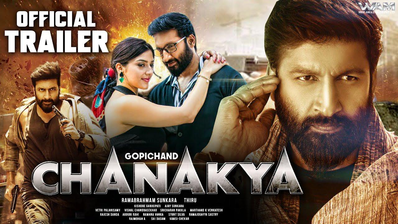 Download Gopichand Chanakya (2020)   Hindi Trailer   New Released Hindi Dubbed Full Movie   Mehreen Pirzada