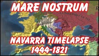 EU4 Timelapse - Navarra Ironman Campaign - Mare Nostrum by PoetryStud