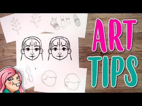 10 ART TIPS for BEGINNERS
