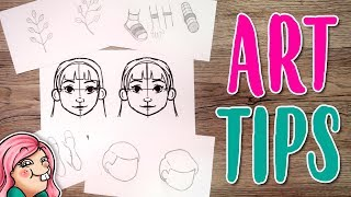 10 ART TIPS for BEGINNERS