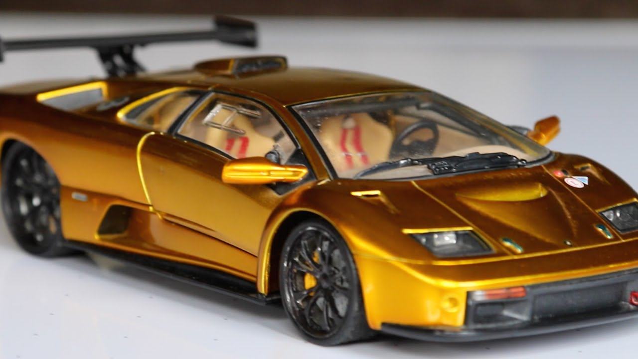 review 1 18 scale hot wheels lamborghini diablo gt r youtube. Black Bedroom Furniture Sets. Home Design Ideas