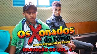 Gravação CD Os Xonados Do Forró vol. 4 Estúdio Imagem Interativa