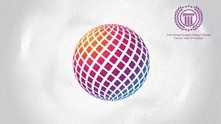 Create 3D Circle Revolve Surfaces Logo Design in Adobe illustrator