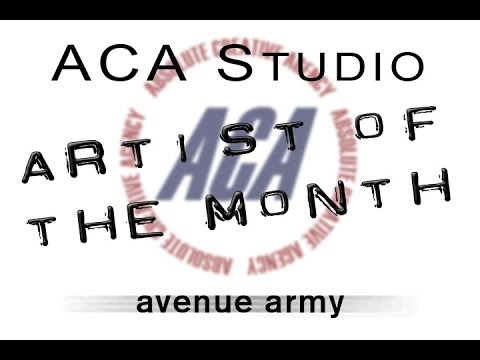 Avenue Army - ACA Studio Artist of the Month 9/14