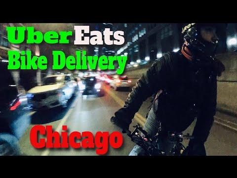 Uber Eats Bike Delivery