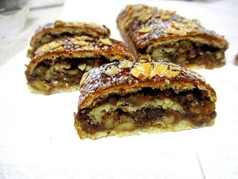 מתכון-רולדת בצק פרסבורגר משגעת עם מלית אגוזים-פרווה או חלבי,בקלי קלות הערוץ הרשמי המקורי-ליהי קרויץ