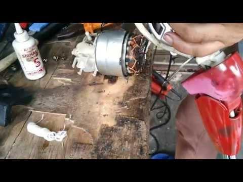 แนวทางการตรวจเช็คซ่อมพัดลม MITSUBISHI รุ่น LV-16-GE   อาการไม่หมุนแบบง่ายๆ