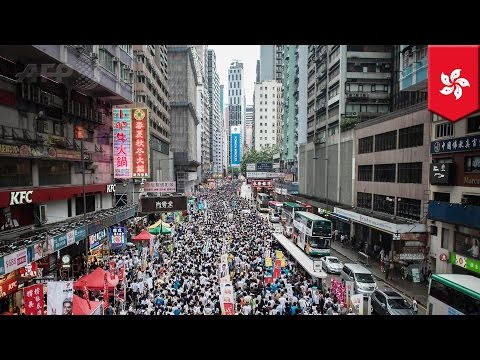 Anti-chinese government: Next Media Chairman Jimmy Lai supports Hong Kong democracy