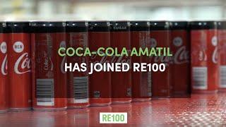 Coca-Cola Amatil joins RE100