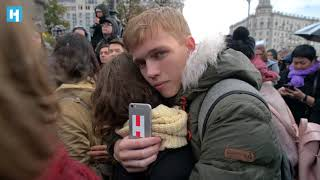 Митинг сторонников Навального в Москве