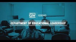 GSEHD - Educational Leadership