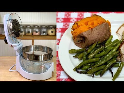 EASY THANKSGIVING SIDE DISHES IN THE SANHOYA AIR FRYER CONVECTION OVEN!!