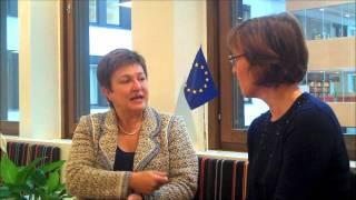 Commissioner Kristalina Georgieva on how the EU works with humanitarian aid, 04/10/2012.wmv