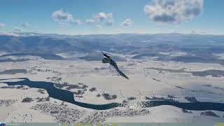 DCS World - 2.5 Caucasus - Su27 Flanker - Trying to learn Tail-slide