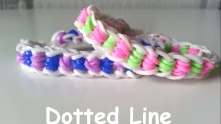 Loom Bands NL Dotted Line