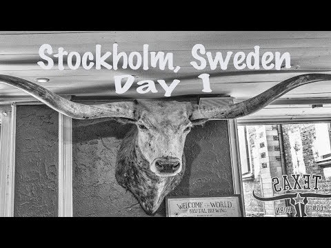 Family Trip to Stockholm, Sweden - Day 1