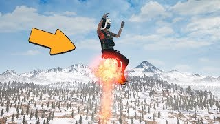 WHAT HAPPENS IF YOU TAKE OFF ON A FLAREGUN? - PUBG