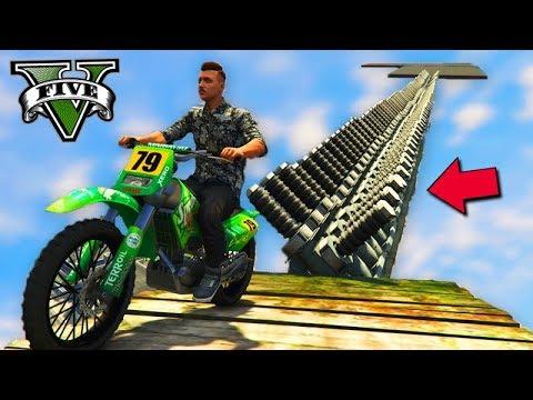 GTA V Online: A TRILHA DE CHOQUE 1000 VOLTS com MOTO!!! PERIGOSO