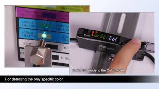 E3NX-CA Color Mark Product Video