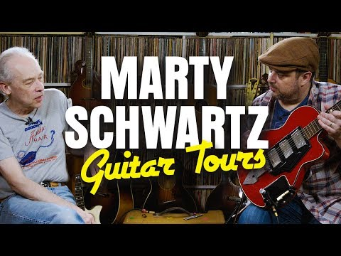Amazing Guitar Collection | Marty's Guitar Tours