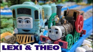 Thomas and friends : Lexi and Theo  Journey Beyond Sodor | capsule toys plarail