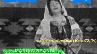 Maria Lătăreţu (pe viu/live) - La stejaru