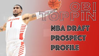 Obi Toppin was the National Player of the Year. Could he now be the No. 1 pick???