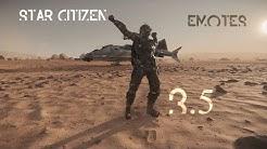 Star Citizen 3.5 - All emotes (4K)