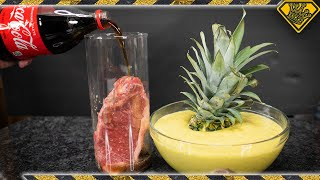 Download Will COKE and Pineapple ACID Disintegrate Meat? Mp3 and Videos