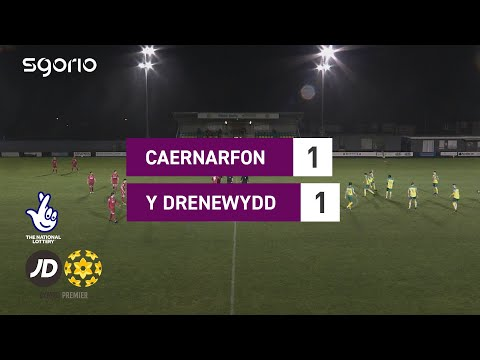 Caernarfon Newtown Goals And Highlights