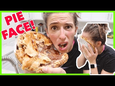 Taking Pie to the Face!!!