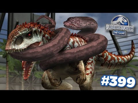 Unlocking The New Giant Snake!!!  | Jurassic World - The Game - Ep399 HD