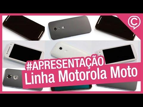 Linha Motorola Moto - Quais as diferenças entre os principais smartphones da Motorola