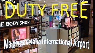 මාලදිවයින තීරුබදු රහිත සාප්පු යාම Travel With Manga-Maldives Duty Free Vlog 06