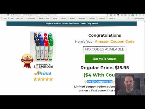 Distribute Amazon Single Use Coupon Codes With Coupons Pro WordPress Plugin