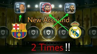 New Account Get Black Ball 2 Times | | | Pes  Mobile 2018