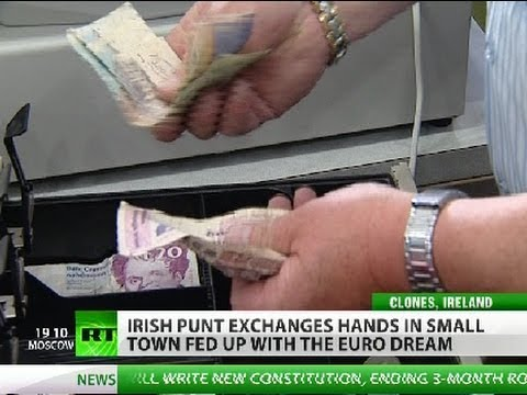 Punts & Clones: Fed up with Euro, Irish town cashes in old currency