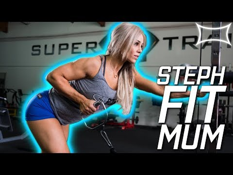 Australia's Fittest Mom? - StephFitMum @ Super Training Gym