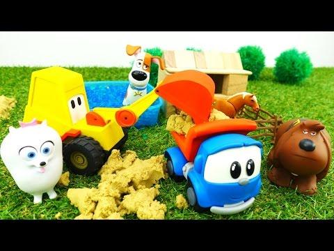 #Игрушки и Ферма: Пластилин, Бассейн и Шарики ОРБИС! Игры для детей: Лева и Мася