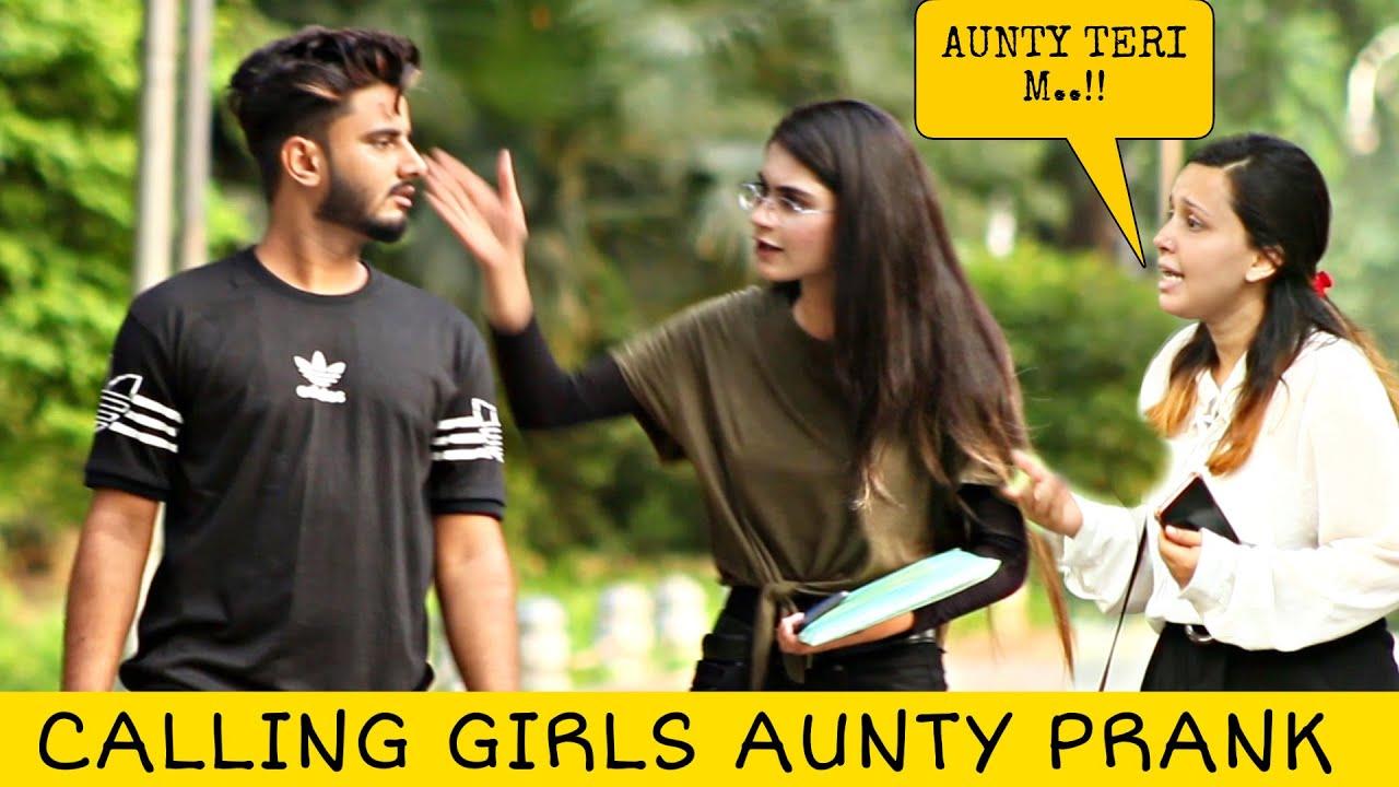 Calling Cute Girls AUNTY Prank | Prank in Pakistan @That Was Crazy
