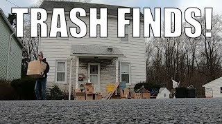 TRASH PICKING In The Cold and Stuff - The DAY of TREASURES