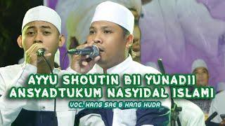 Download Lagu Ayyu Sautin Bii Yunadii II Ansyadtukum nasyidal islami II Majelis Gandrung Nabi Live Sambongbangi . mp3