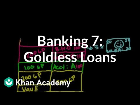 Banking 7: Giving out loans without giving out gold