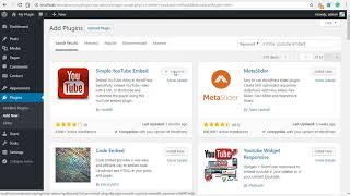 Simple Youtube Embed Plugin for WordPress
