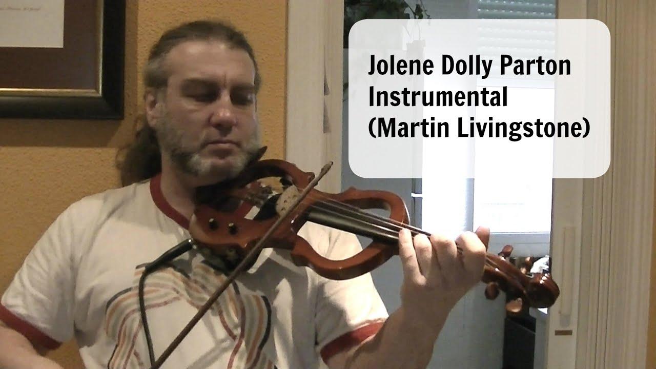 jolene dolly parton instrumental martin livingstone youtube