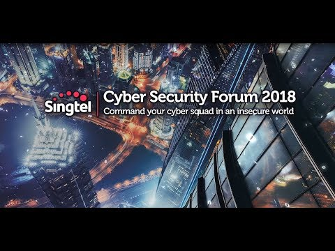 Singtel Cyber Security Forum 2018 in HK