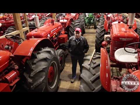 Over 120 Classic Tractors! Don Hershey Collection In Lancaster, PA - Classic Tractor Fever