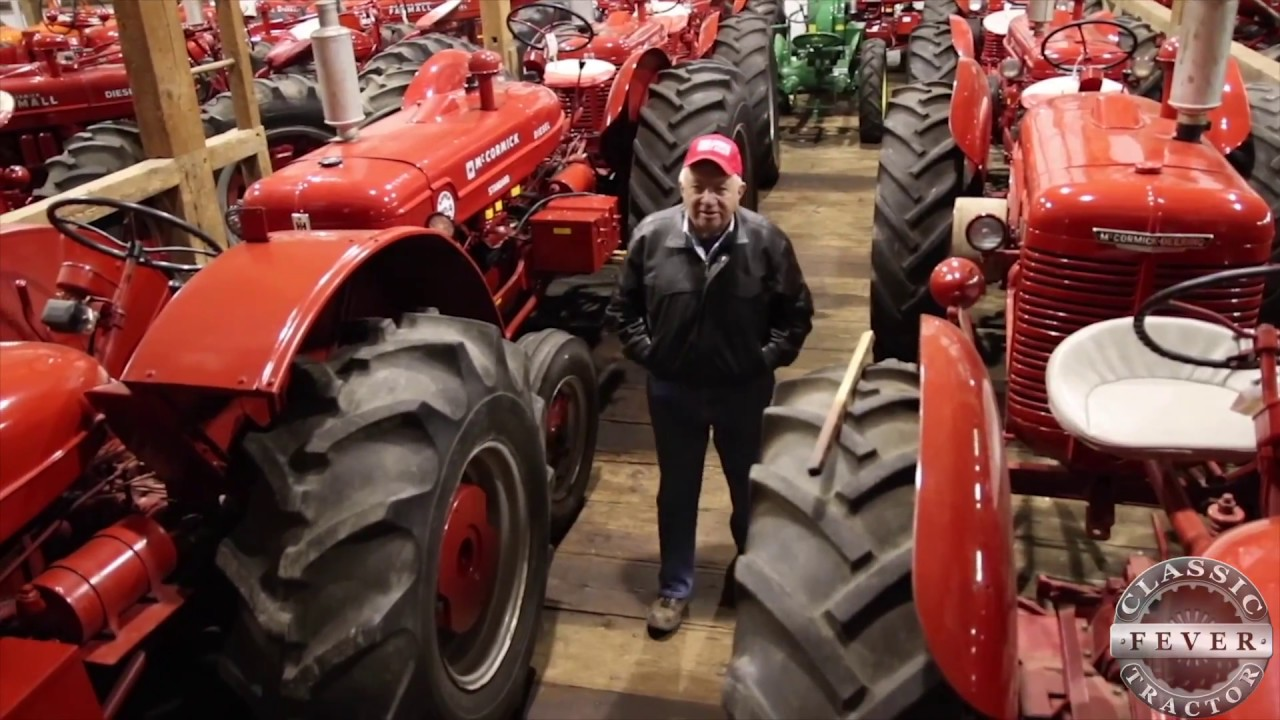 Over 120 Classic Tractors! Don Hershey Collection in Lancaster, PA ...