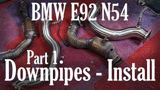 BMW E92 Front Bumper Panel Gap Alignment