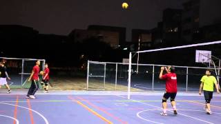 【TVA排球終身學習計畫】週三男生班 蘇士圍老師 攻擊示範